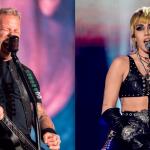 Metallica y Miley Cyrus se unen para cantar juntos